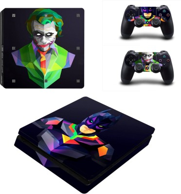 Al Pacino Batman Joker Theme cover sticker for Ps4 SLIM  Gaming Accessory Kit(Multicolor, For PS4)