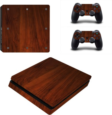 Al Pacino Wooden theme cover sticker for Ps4 SLIM MODEL  Gaming Accessory Kit(Multicolor, For PS4)