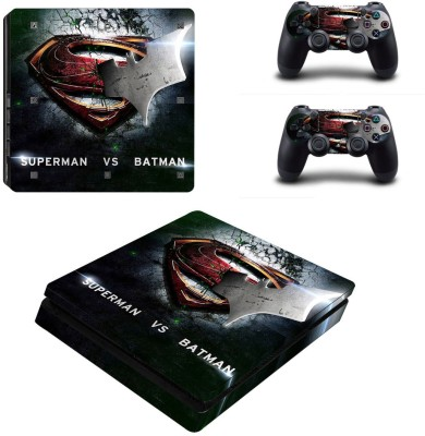 Al Pacino Batman vs Superman Theme cover sticker for Ps4 SLIM MODEL  Gaming Accessory Kit(Multicolor, For PS4)