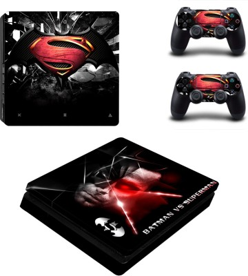 Al Pacino Batman V/s superman theme sticker for PS4 SLIM  Gaming Accessory Kit(Multicolor, For PS4)