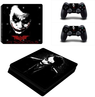 Al Pacino Joker Theme cover sticker for Ps4 SLIM MODEL  Gaming Accessory Kit(Multicolor, For PS4)