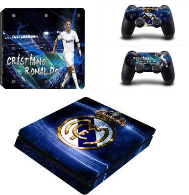Al Pacino Real Madrid Theme cover sticker for Ps4 SLIM MODEL  Gaming Accessory Kit(Multicolor, For PS4)