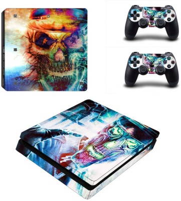 Al Pacino Skull Theme Cover for Ps4 SLIM MODEL  Gaming Accessory Kit(Multicolor, For PS4)