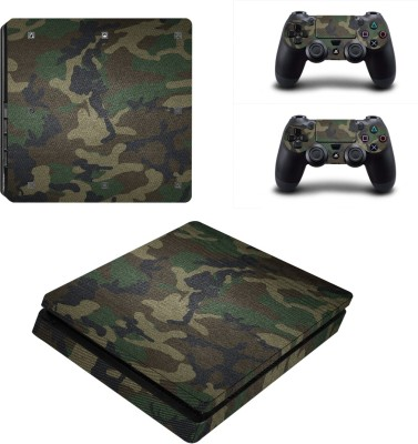Al Pacino Camouflage theme cover sticker for Ps4 SLIM MODEL  Gaming Accessory Kit(Multicolor, For PS4)
