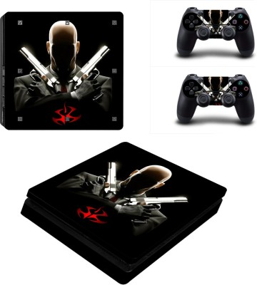 Al Pacino Hitman theme cover sticker for Ps4 SLIM  Gaming Accessory Kit(Multicolor, For PS4)