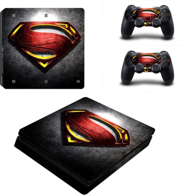 Al Pacino Superman Theme cover sticker for Ps4 SLIM  Gaming Accessory Kit(Multicolor, For PS4)