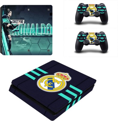 Al Pacino Real Madrid F.C. theme cover sticker for Ps4 SLIM MODEL  Gaming Accessory Kit(Multicolor, For PS4)