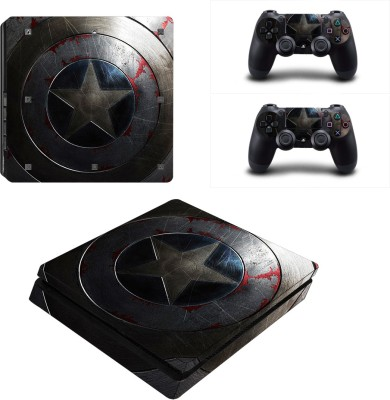 Al Pacino Captain of america Theme cover sticker for Ps4 SLIM  Gaming Accessory Kit(Multicolor, For PS4)
