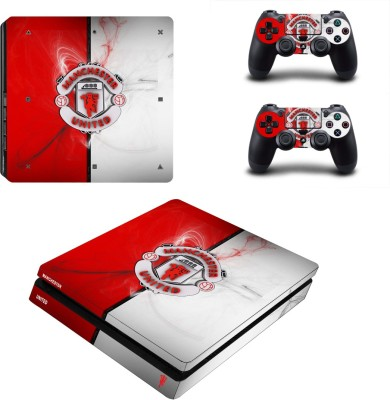 Al Pacino Manchester United Football Club theme cover sticker for Ps4 SLIM MODEL  Gaming Accessory Kit(Multicolor, For PS4)