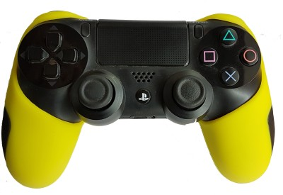 Hytech Plus PS4 Ultra Armor Edition DualShock 4 Silicone Sleeve  Gaming Accessory Kit(Yellow, For PS4)