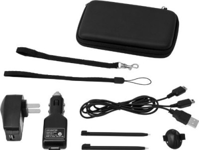 CTA Digital DS/DSi Supreme 8 in 1 Accessory Kit - Black  Gaming Accessory Kit