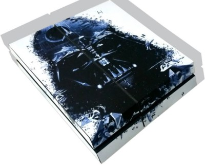 TheFlareShop Ps4 Darth Vader skin with FREE DS4 lightbar decal  Gaming Accessory Kit