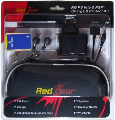 Red Gear PSP & PS Vita Kit  Gaming Accessory Kit