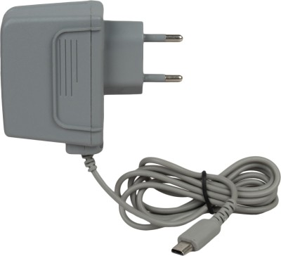 Fox Micro Nintendo DS Lite Power Supply Adapter/Charger 110V To 220V Universal Use Gaming Adapter(Gray, For Wii)