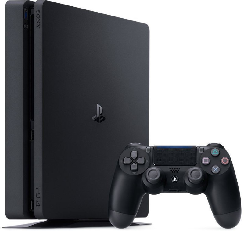 Sony PlayStation4 Slim New 1 TB 1000 GB with No(Black)