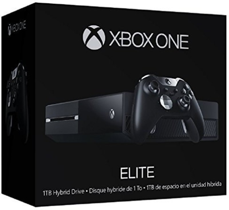 Microsoft 3967654 500 GB with Xbox One 1TB Elite Console Bundle(Black)