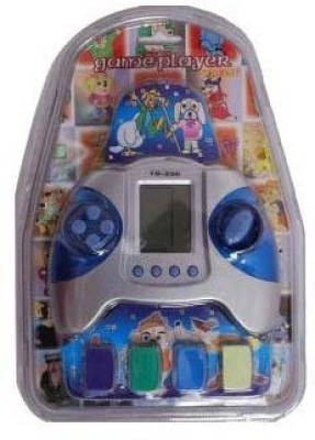 Ptc Mart BG - 4 Memory not included Gb with Brick Game(Silver, Blue)