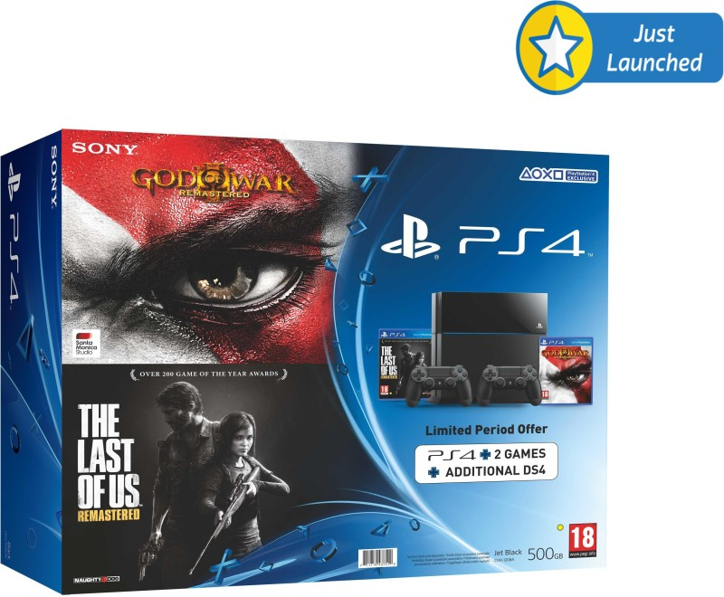 Sony PlayStation 4 (PS4) 500 GB & Dual Shock Controller...