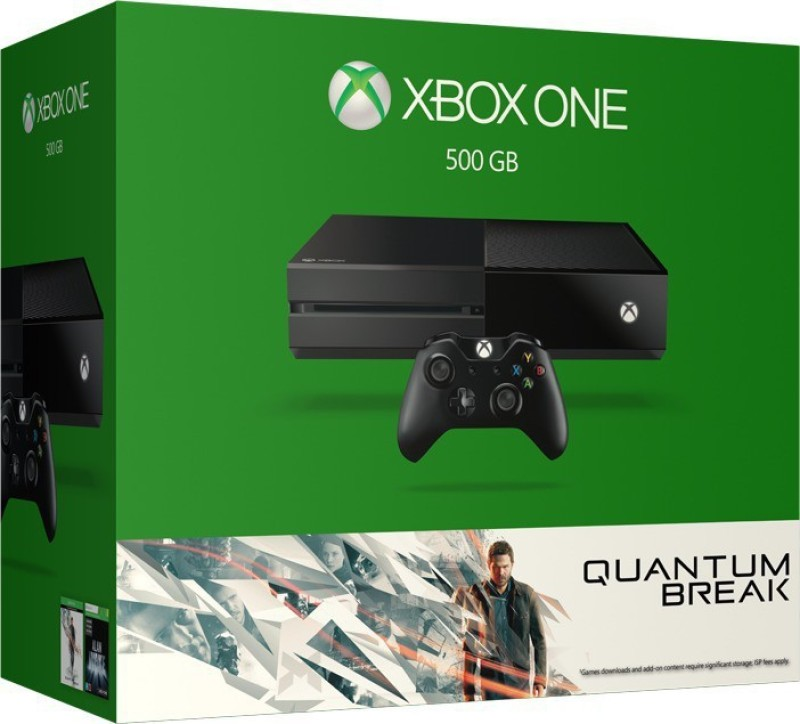 Microsoft Xbox One 500 GB with Quantum Break(Black)