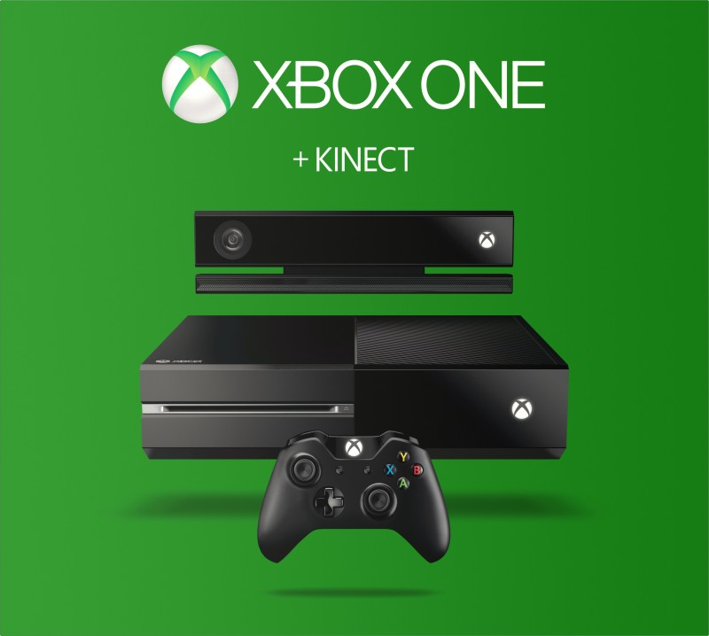 Microsoft Xbox One With Kinect 500 GB(Black)
