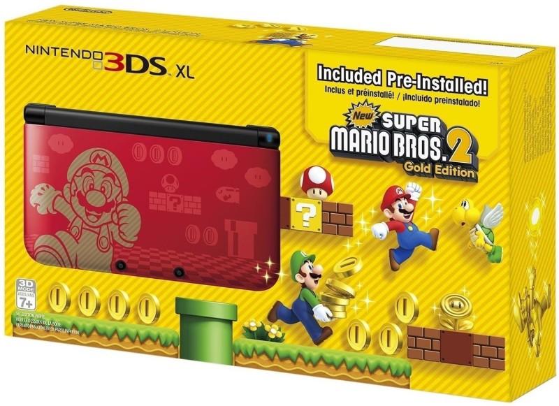 Nintendo 3DS XL with Pre-installed New Super Mario Bros 2...