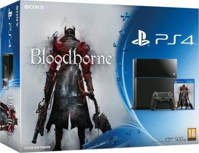 Sony PlayStation 4 (PS4) 500 GB with Bloodborne Bundle(Black)