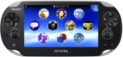 Sony PS Vita Console 2000 1 GB with No(Black)
