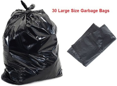 Iserve iSGBL Large 50-70 L Garbage Bag(Pack of 30)