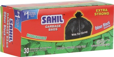Sahil Tie String Small 15 L Garbage Bag