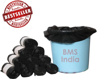 BMS India LDPE (180 Bags) Small 5 - 7 L Garbage Bag(Pack of 30)