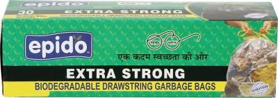 Epido Drawstring Medium 30 L Garbage Bag