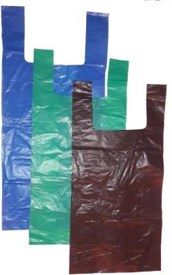 SUN FEEL Waste Segregation Kit (Green+Blue+Brown) Medium 7-11 Liters L Garbage Bag(Pack of 167)
