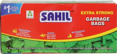 Sahil Tie String Medium 30 L Garbage Bag(Pack of 30)