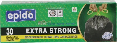 Epido Drawstring Small 30 L Garbage Bag(Pack of 30)
