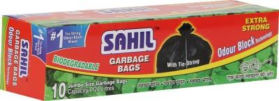 Sahil Tie String Extra Large 120 L Garbage Bag