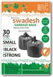 Swadesh Premium Garbage Bags Medium 15-2...