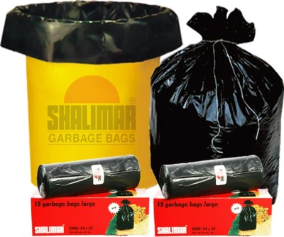 Shalimar Virgin (90 Bags) Large 60-65 L Garbage Bag