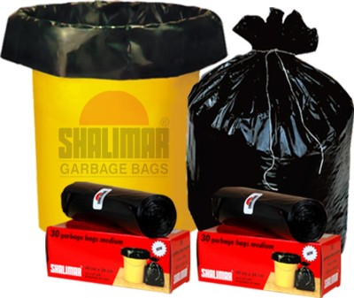 Shalimar Virgin (180 Bags) Medium 30-35 L Garbage Bag(Pack of 6)