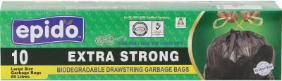 Epido Drawstring Large 65 L Garbage Bag