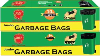 Pixcy Premium Detachable Tie Type (20 Bags) Jumbo 185 - 195 L Garbage Bag