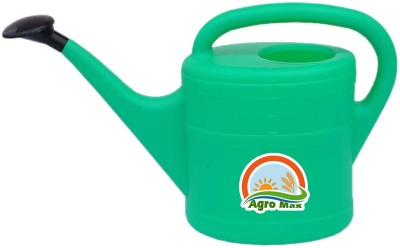 Agro Max Heavy Duty Durable Hand Held Watering Can Oval 10 Liters 10 L Tank Sprayer