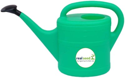 Real Seed Heavy Duty Durable Hand Held Watering Can Oval 10 Liters 10 L Tank Sprayer