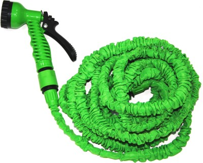 Cambio S-303_7.5-22.5M, Multifunction (7 Types) & Expandable Car Wash & Gardening Hose 1 L Hose-end Sprayer