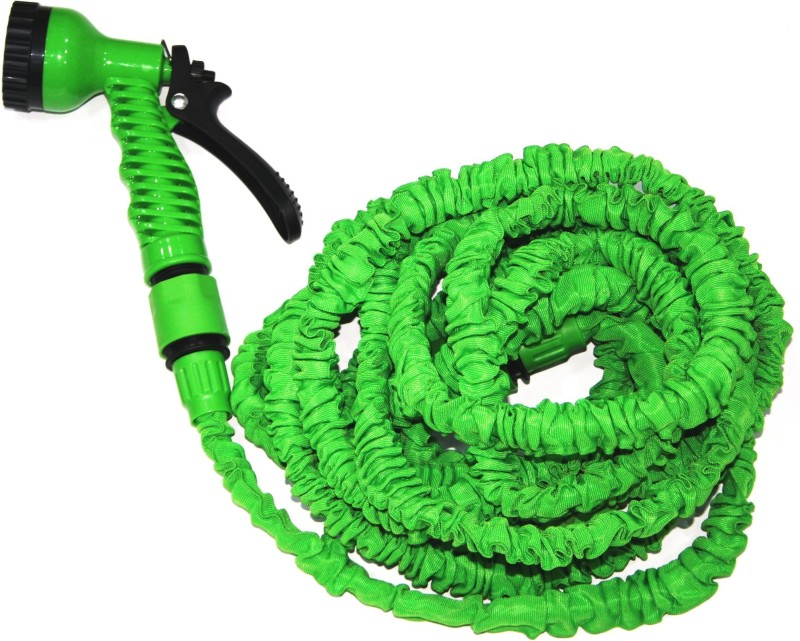 Cambio S-303_7.5-22.5M, Multifunction (7 Types) & Expandable Car Wash & Gardening Hose 1 L Hose-end Sprayer(Pack of 1)