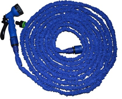 Cambio S-303_5-15M, Multifunction (7 Types) and Expandable Car Wash and Gardening Hose 1 L Hose-end Sprayer