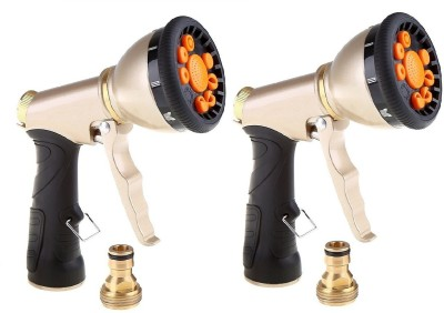 Dolphy Set Of 2 Gold 8 in 1 Water Spray gun 0 L Hand Held Sprayer