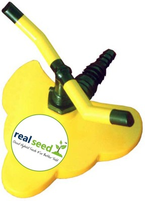 Real Seed Heavy Duty Durable Two Arms Sprinkler 0 L Hose-end Sprayer