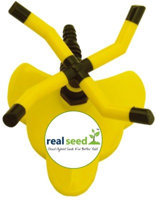 Real Seed 4 Arms - Water Sprinkler 4A Garden Tool Kit 1 L Backpack Sprayer(Pack of 1)