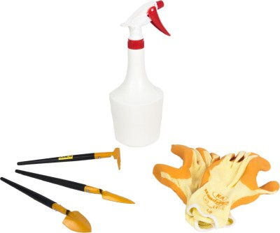 Natures Plus Bonsai Tool set-Hand Sprayer 1 Ltr-Hand Gloves knitted Coat Garden Tool Kit