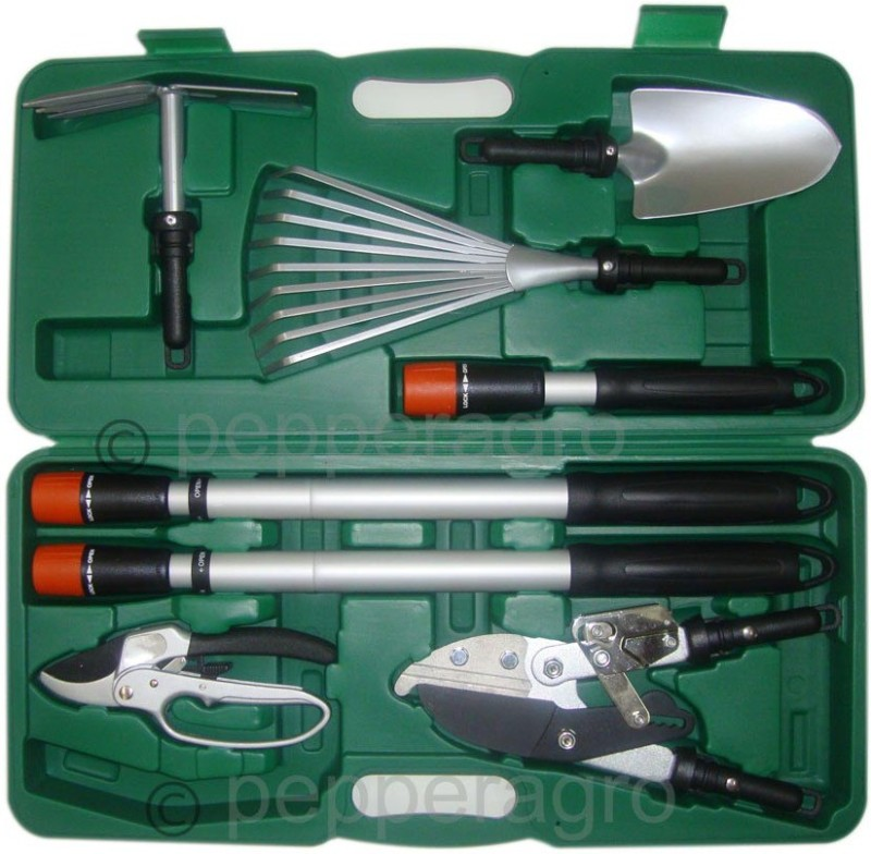 Pepper Agro HGT1008-1Q Garden Tool Kit(8 Tools)